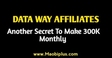 DATA WAY AFFILIATES: Another Secret To Make 300k Monthly