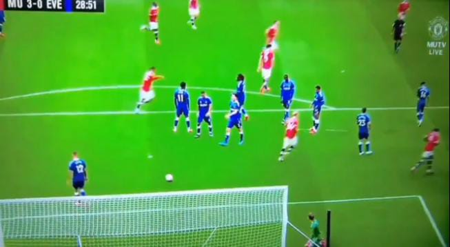 Watch Bruno Fernandes Wonderful free-kick Goal Against Everton
