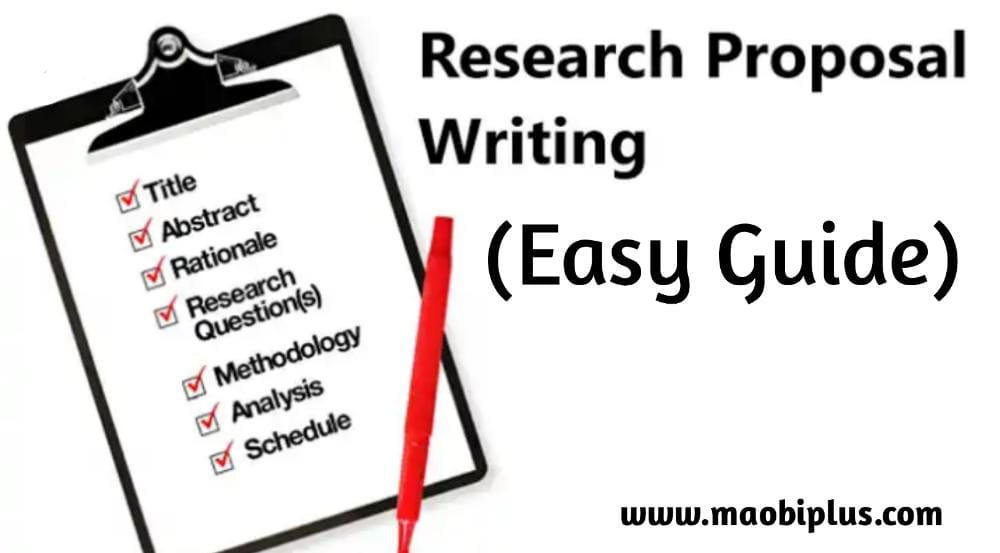 How To Write A Good Research Proposal (Easy Guide)